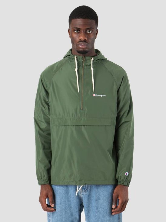Champion Hooded Jacket Dark Green BAF GS536 212615