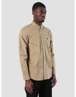 Carhartt Carhartt Madison Shirt Leather Black 8Y91