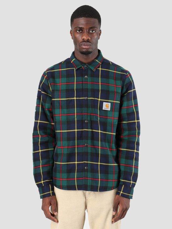 Carhartt Raynor Shirt Jac Raynor Check Cedar I025229-7U90