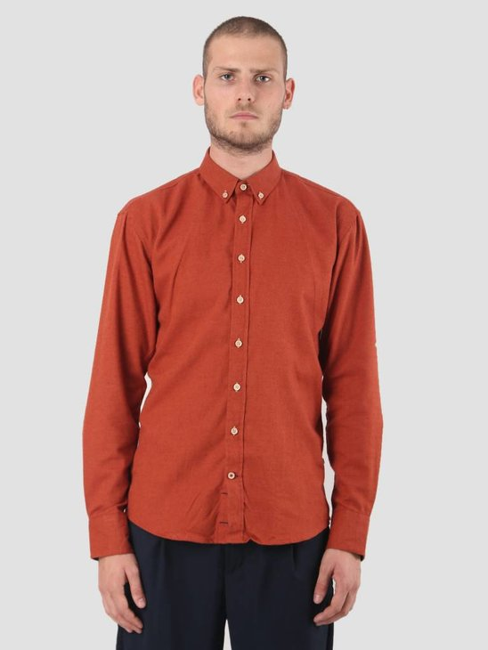 Kronstadt Dean Diego Shirt Orange KRFH18-KS2546