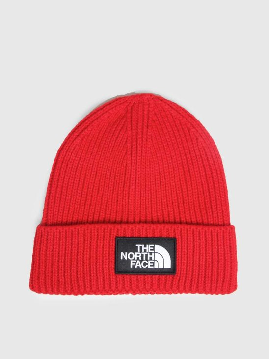 The North Face TNF Logo Box Cuff BE TNF Red