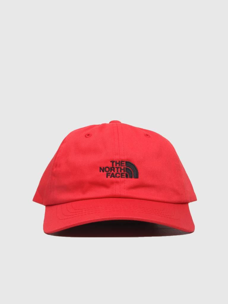 The North Face The North Face The Norm Hat TNF Red TNF Black