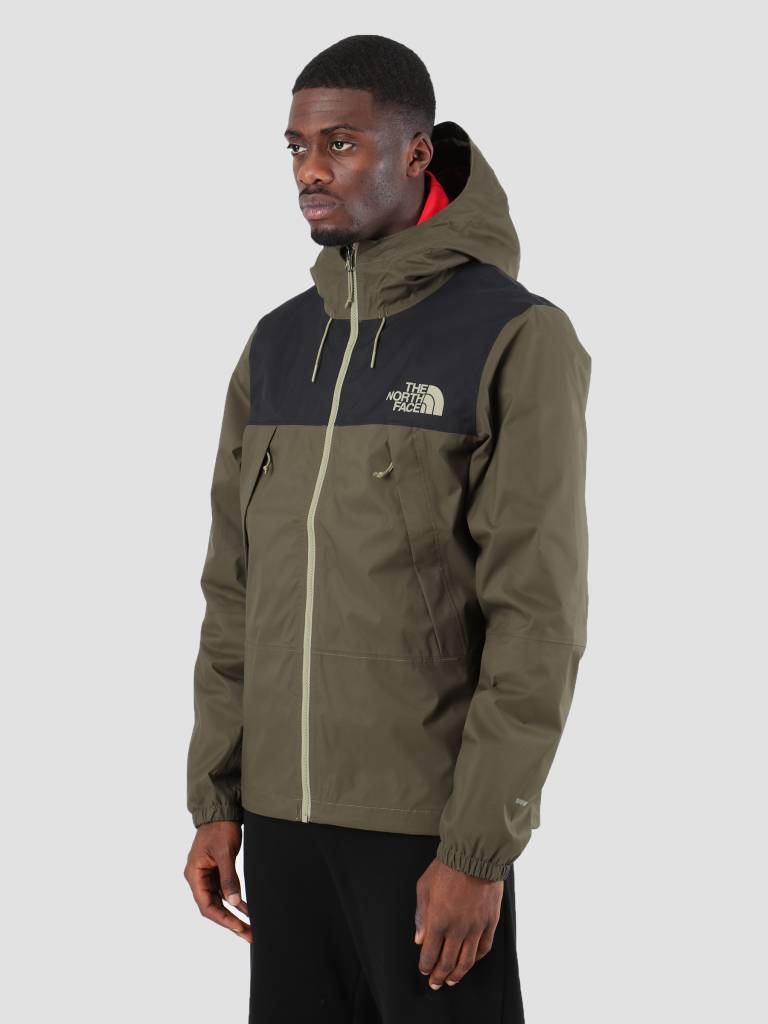 The North Face The North Face 1990 Mountain Q Jacket New Taupe Green TNF Black