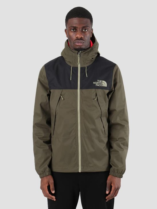 The North Face 1990 Mountain Q Jacket New Taupe Green TNF Black