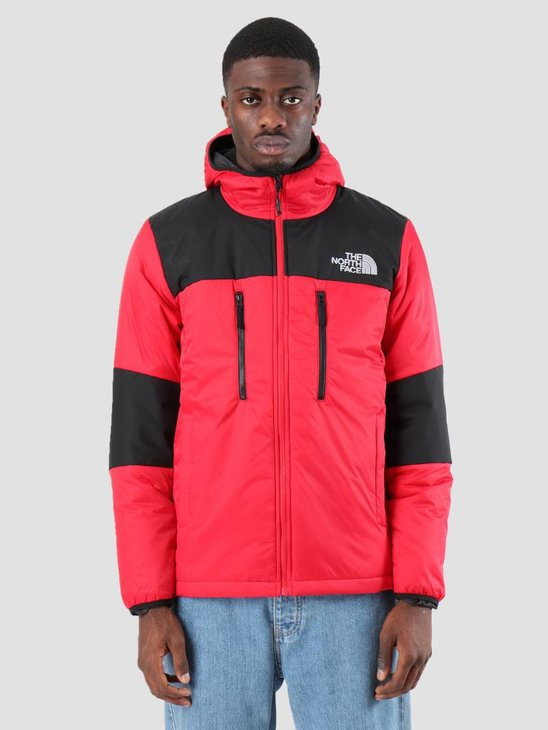 The North Face Him Ligt Synt Hood TNF Red TNF Black