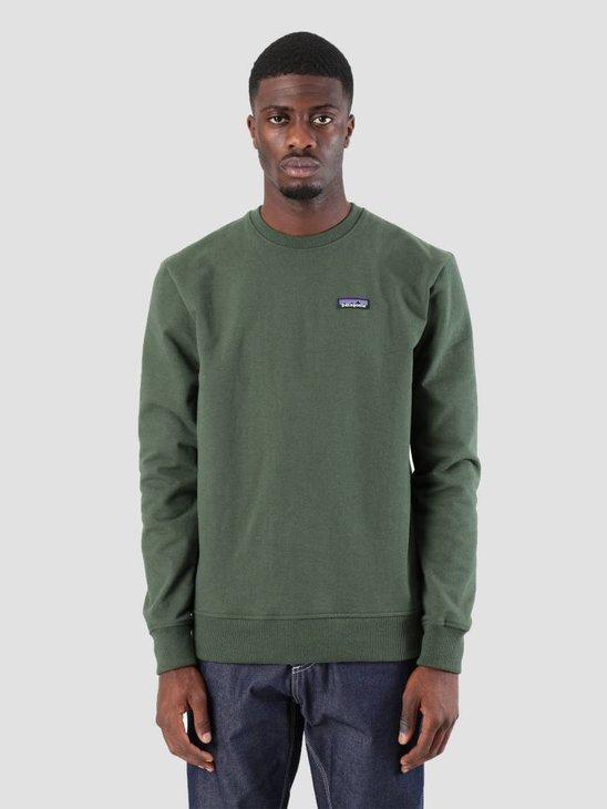 Patagonia P-6 Label Uprisal Crew Sweatshirt Nomad Green 39543