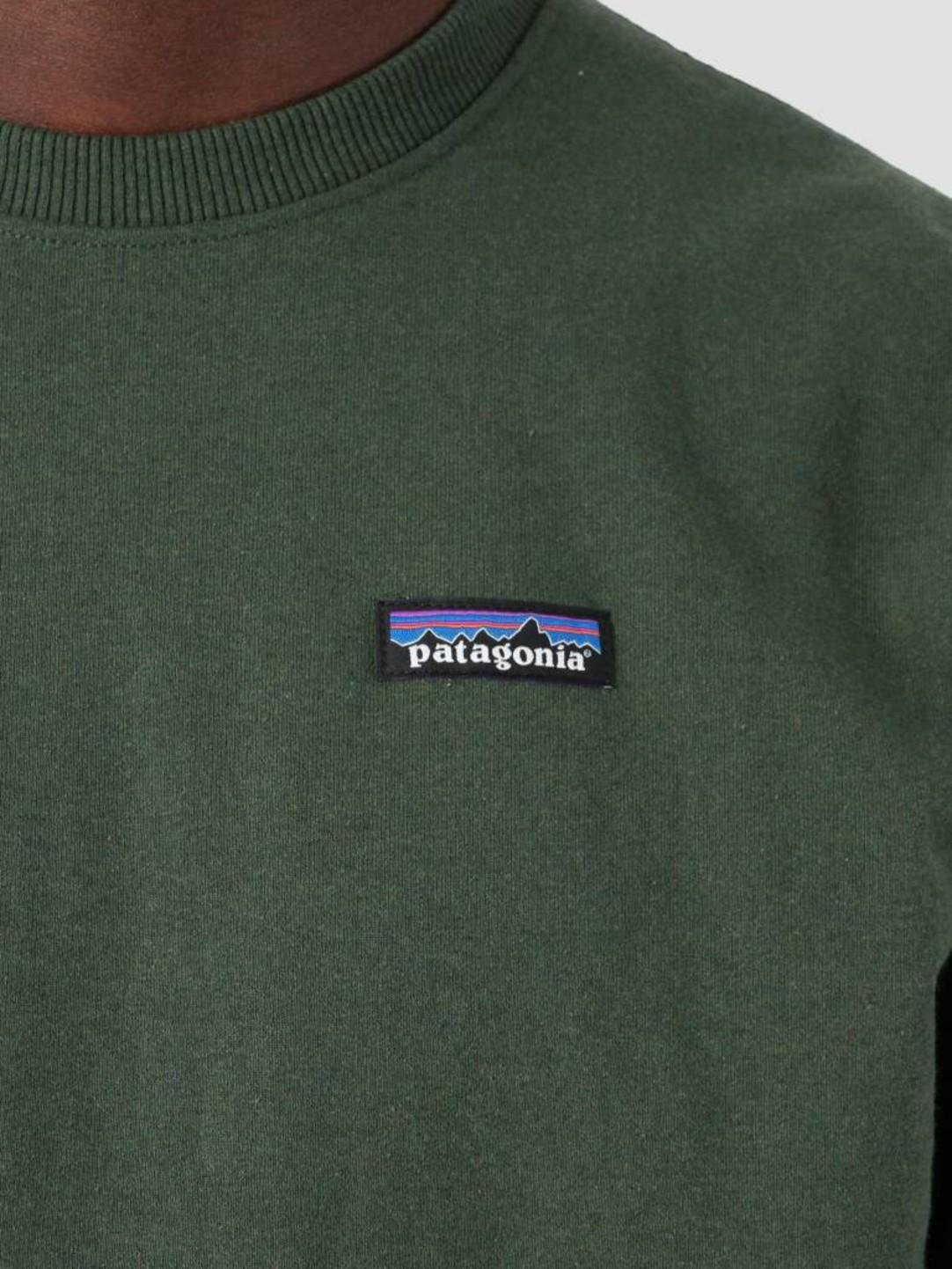 Patagonia Patagonia P-6 Label Uprisal Crew Sweatshirt Nomad Green 39543
