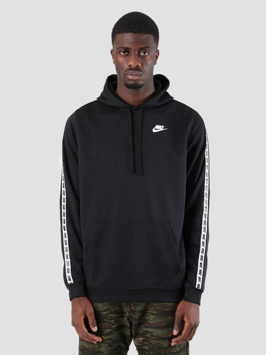 Nike Repeat Po Hood Poly Black White AR4914-010