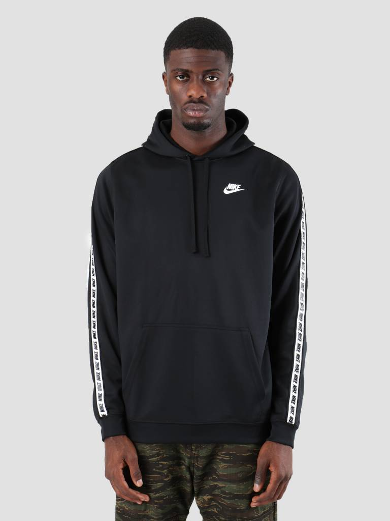 Nike Nike Repeat Po Hood Poly Black White AR4914-010