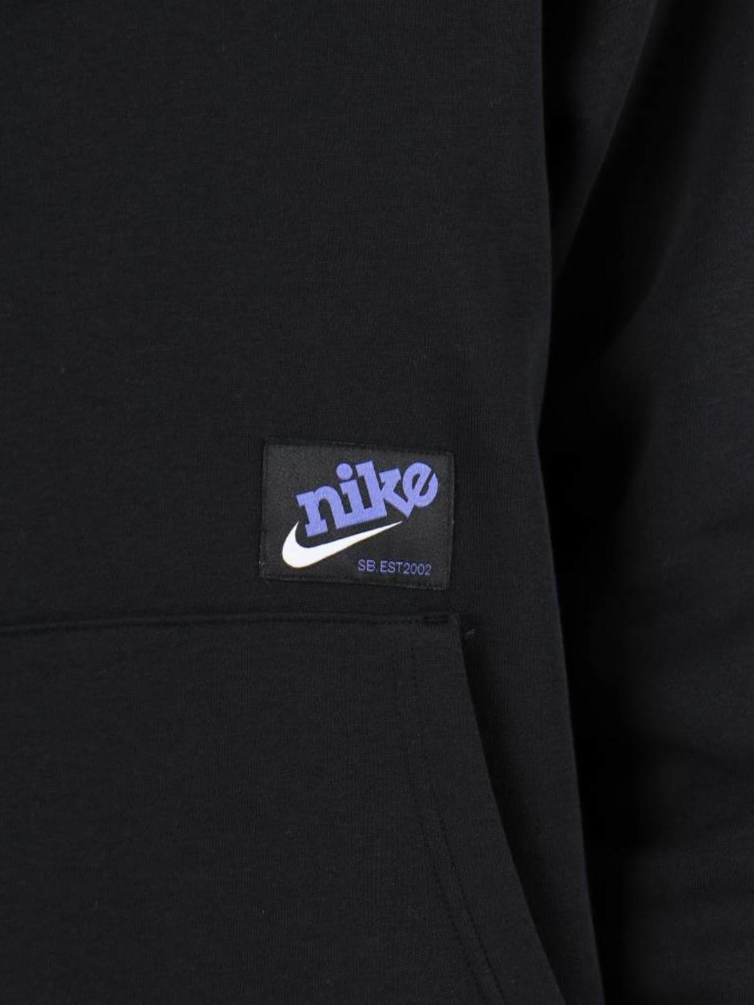 Nike Nike SB Icon Hoodie Black White 938350-010