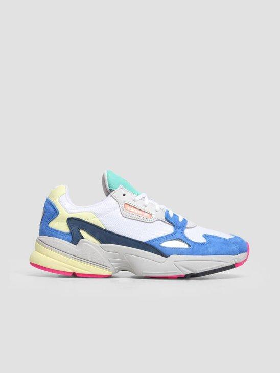 adidas Falcon W Footwear White Footwear White Blue BB9174