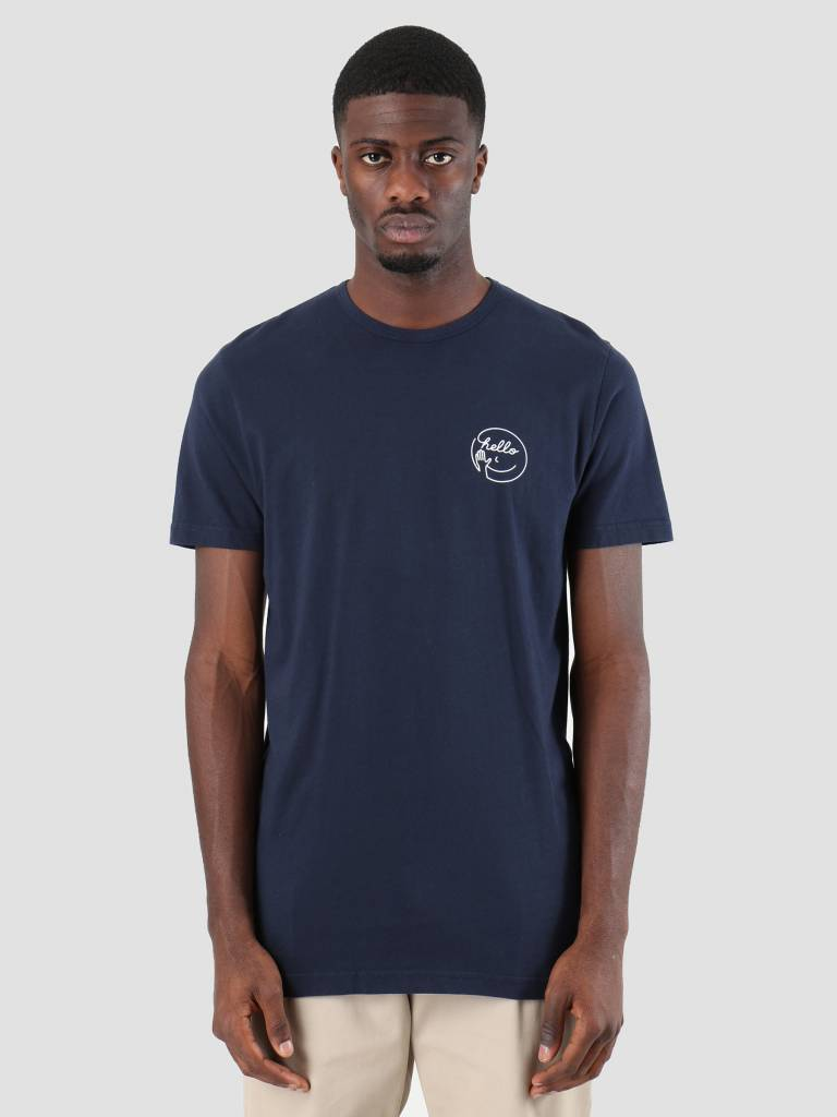 Ceizer Ceizer Hello T-Shirt Navy