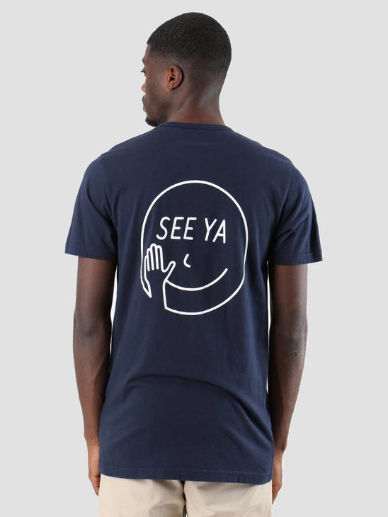 Ceizer Hello T-Shirt Navy