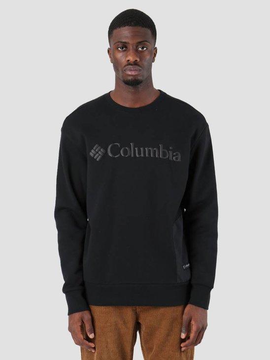 Columbia Bugasweat Crew Black Black 1804861010