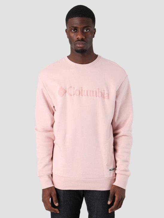 Columbia Bugasweat Crew Dusty Pink Dusty Pink 1804861626