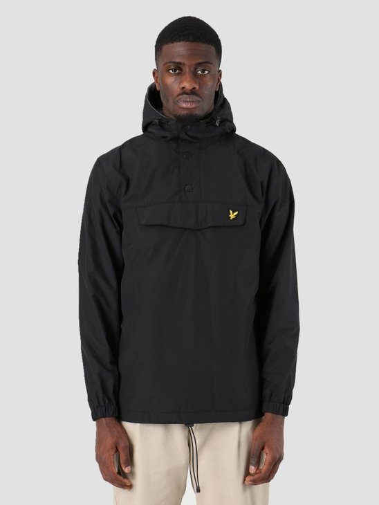 Lyle and Scott Overhead Anorak True Black JK904V