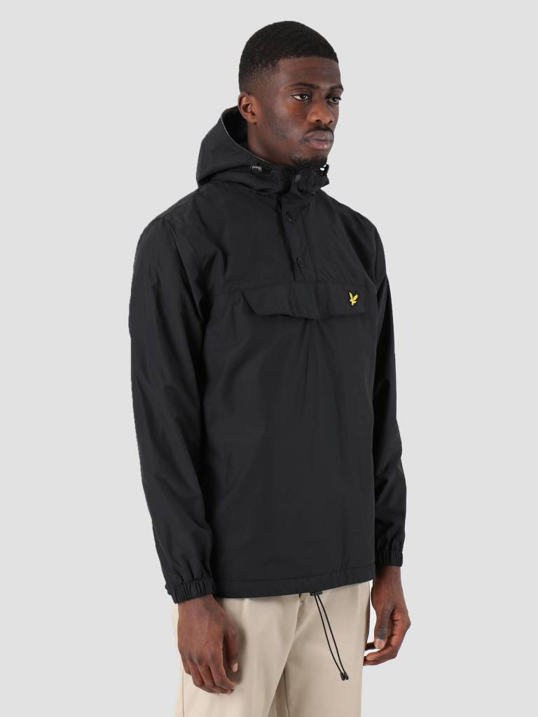 Lyle and Scott Lyle and Scott Overhead Anorak True Black JK904V