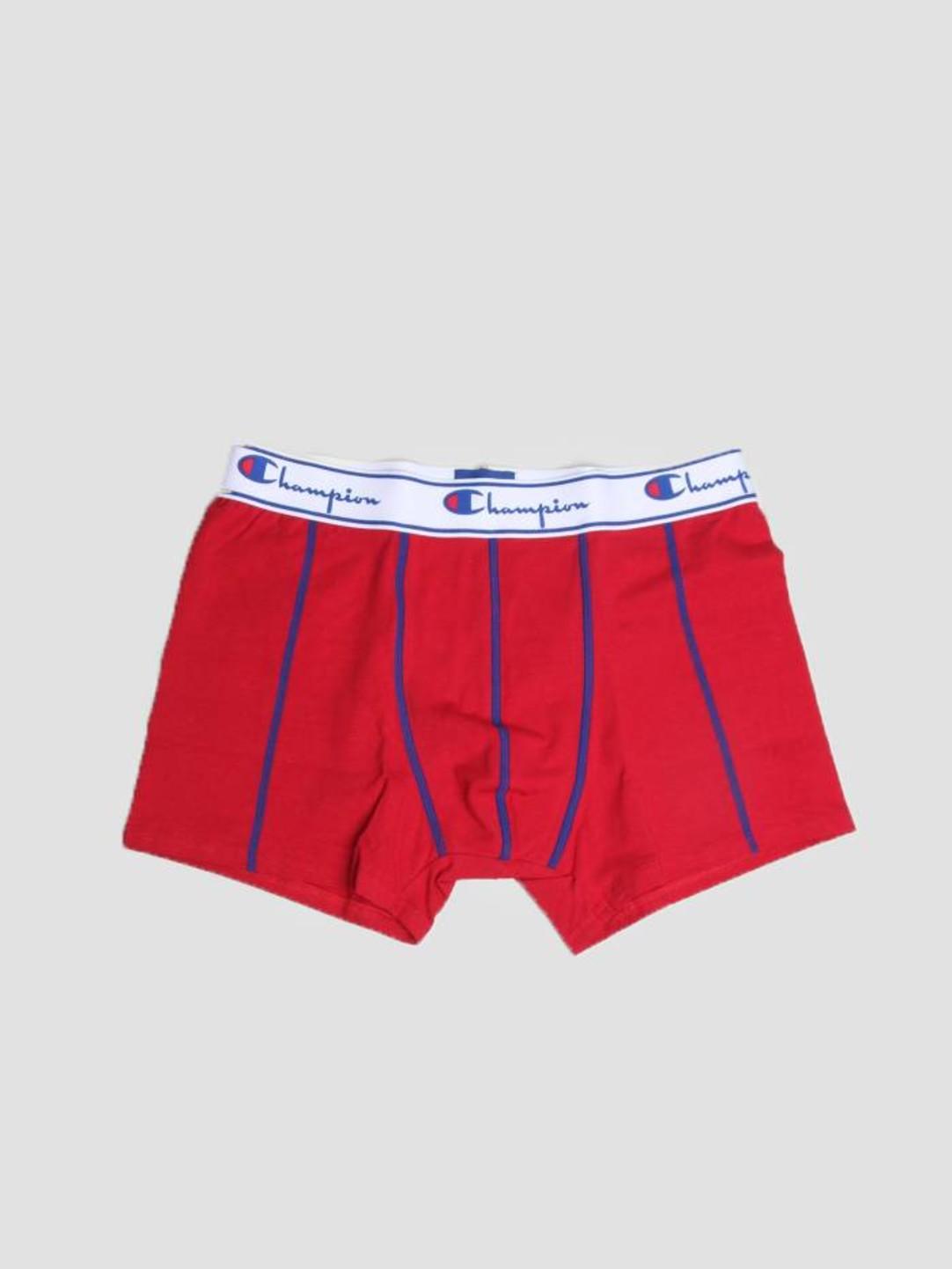 Champion Champion Boxer Cotton Red Royal Blue 372001