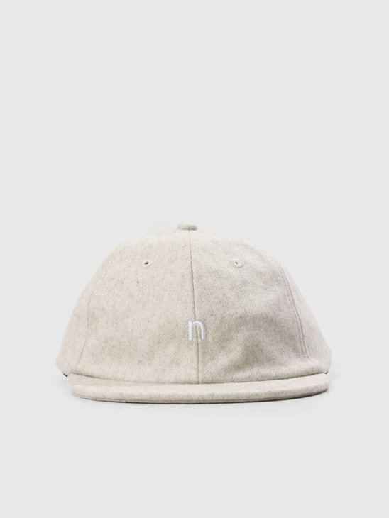 Native North Hurley Wool Cap Ecru NNAW18025E
