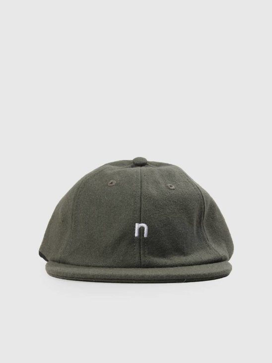 Native North Hurley Wool Cap Green NNAW18025G