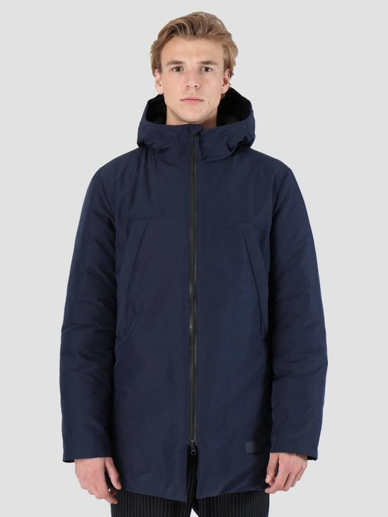Quality Blanks QB21 Tech Parka Navy Blue