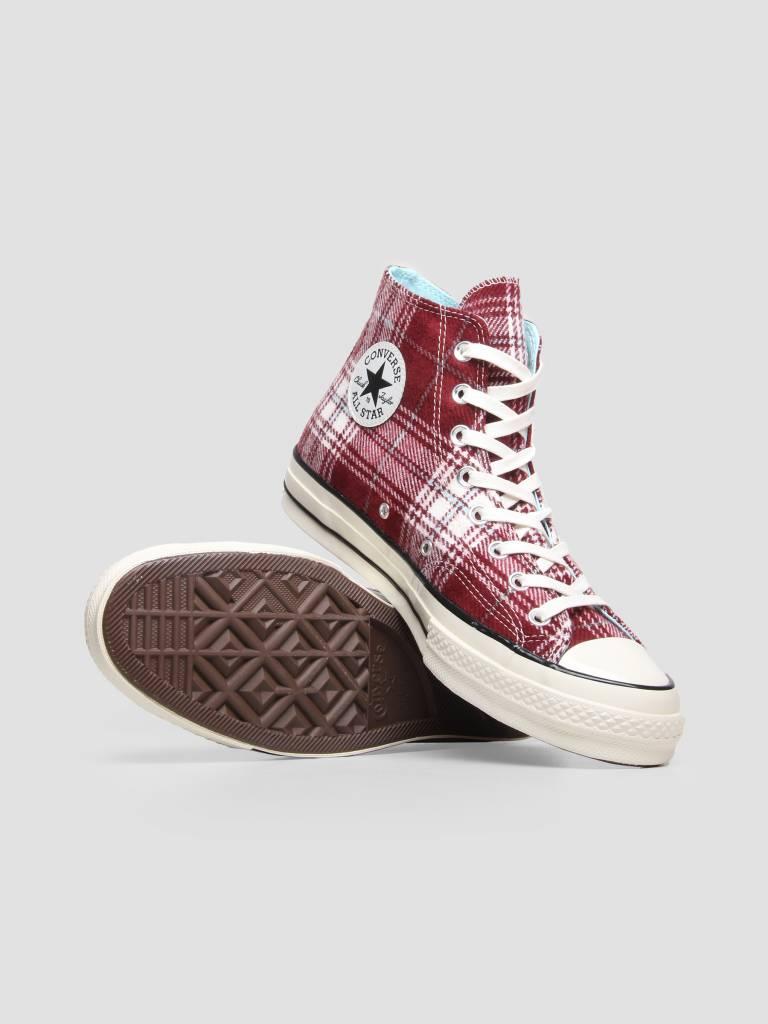 Converse Converse Chuck 70 Hi Dark Burgundy Cyan Tint 162403C