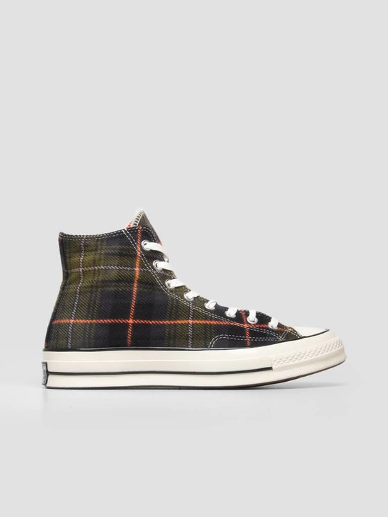 Converse Chuck 70 Hi Medium Olive Campfire Orange 162404C