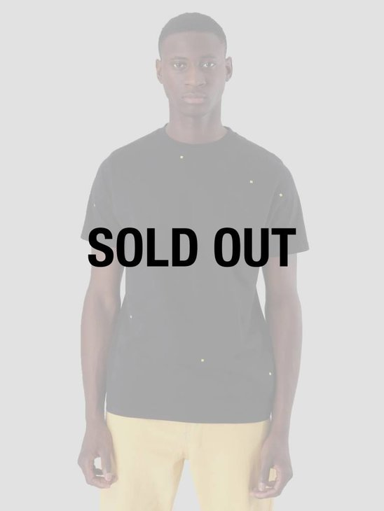 FRESHCOTTON x ADE Pixel T-Shirt Black