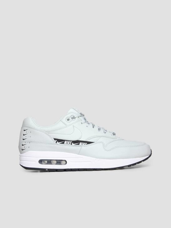 Nike Air Max 1 SE Shoe Light Silver Light Silver Black White 881101-004