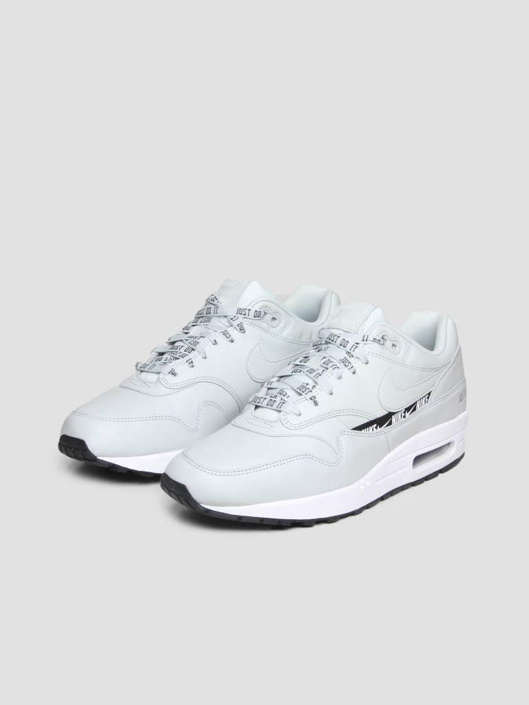 Nike Nike Air Max 1 SE Shoe Light Silver Light Silver Black White 881101-004