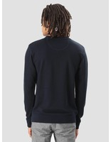 Wemoto Wemoto Days Knit Sweater Navyblue 101.406-400
