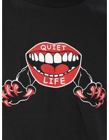 The Quiet Life The Quiet Life Venom Lips T-Shirt Black 18FAD2-2113-BLK