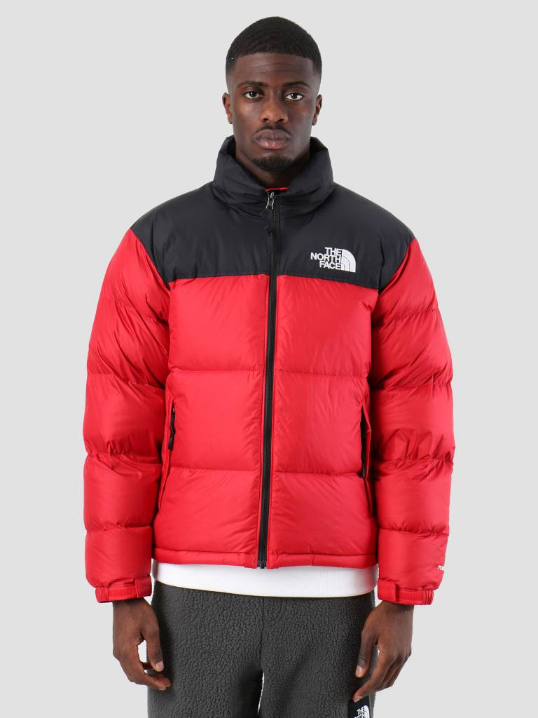 Nuptse Jacket 1996 Rto The North Red Tnf Freshcotton Face InO44Xqx