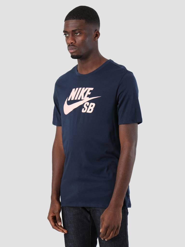 Nike Nike SB T-Shirt Obsidian Obsidian Storm Pink 821946-462