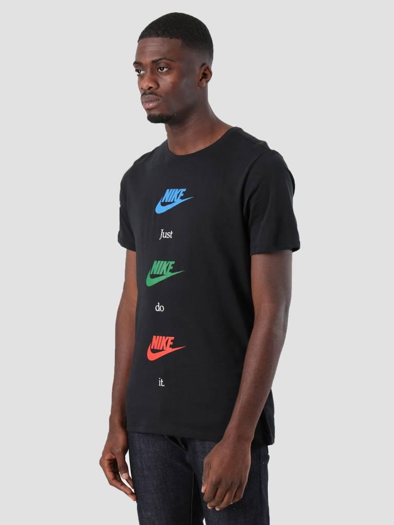 Nike Nike NSW T-Shirt Table Hbr 20 Black Blue Nebula Aa6508-010