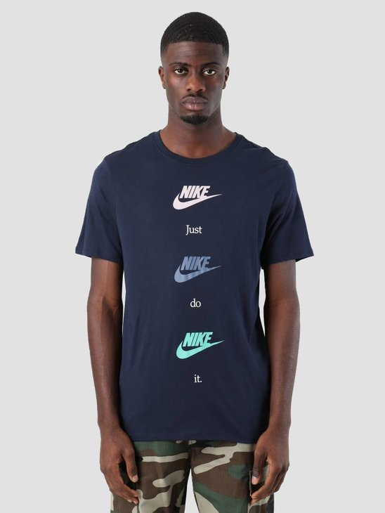 Nike NSW T-Shirt Table Hbr 20 Obsidian Particle Rose Aa6508-451
