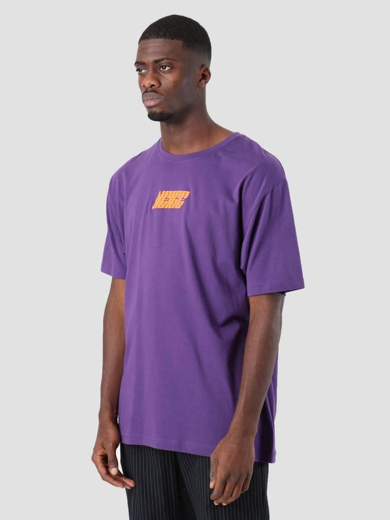 Neige Neige Logo T-Shirt Purple AW18004