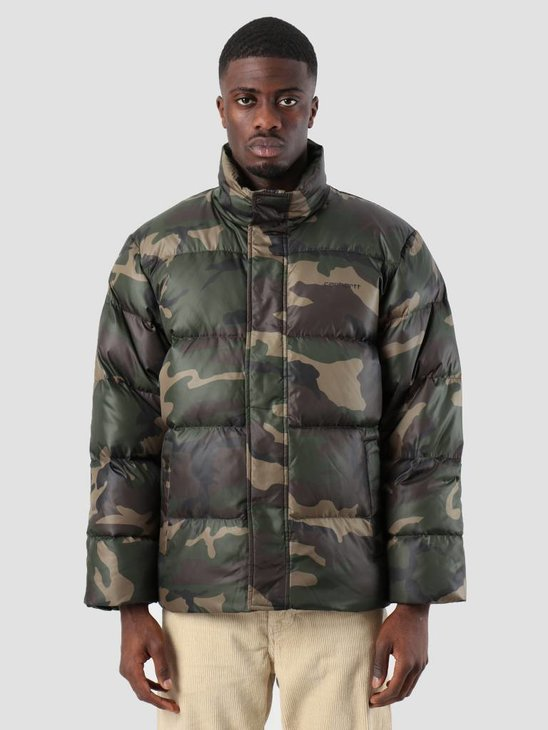 Carhartt WIP Deming Jacket Camo Laurel I025113-64000