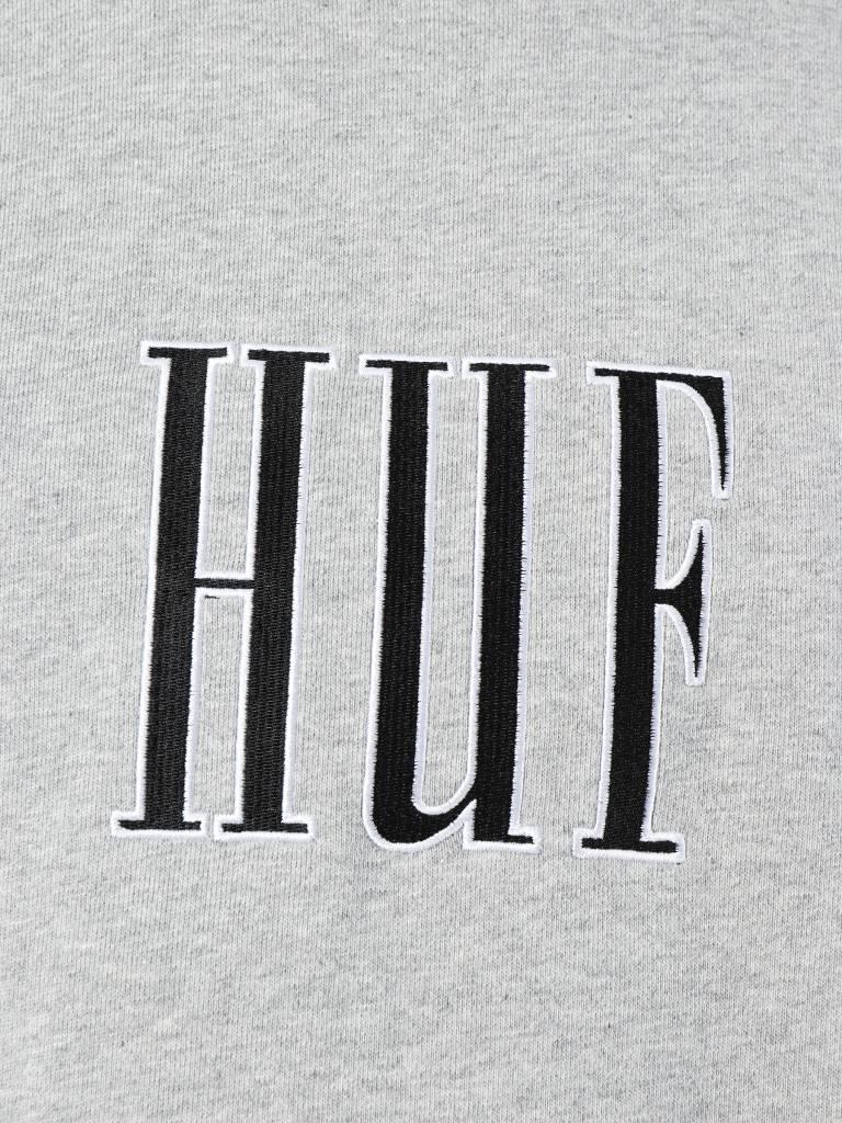 HUF HUF Crevasse Crew Grey Heather Fl00068