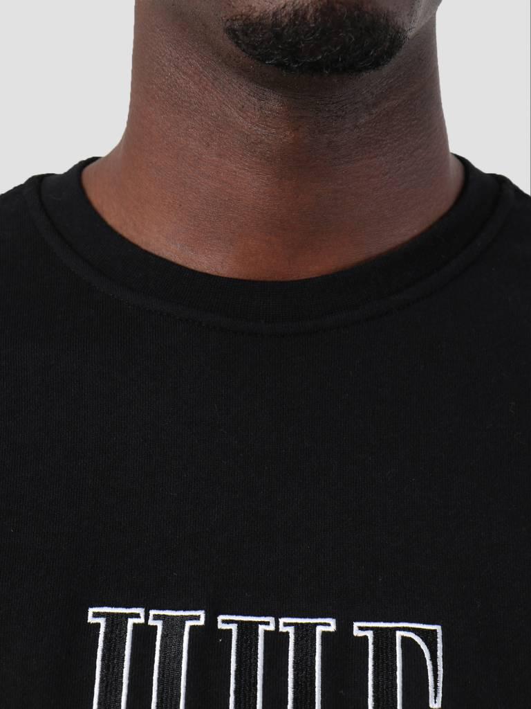 HUF HUF Crevasse Crew Black Fl00068