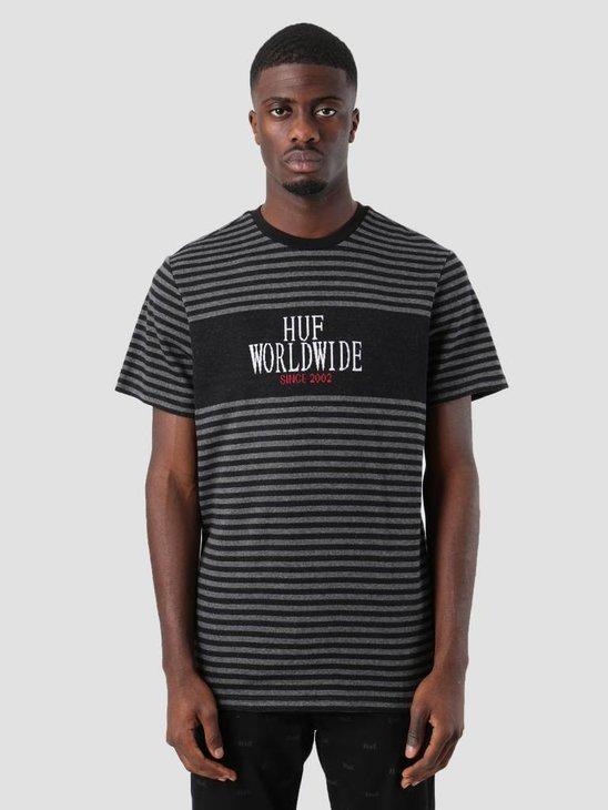 HUF Void T-Shirt Black Kn00072