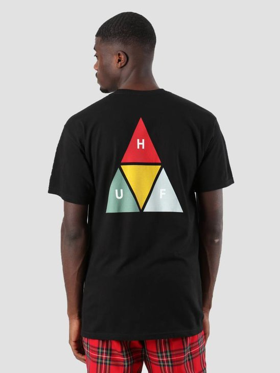 HUF Prism Triangle T-Shirt Black Ts00474