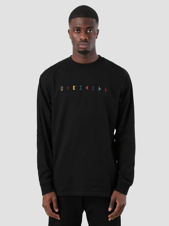 Carhartt Horizontal Longsleeve Black I025786-8900