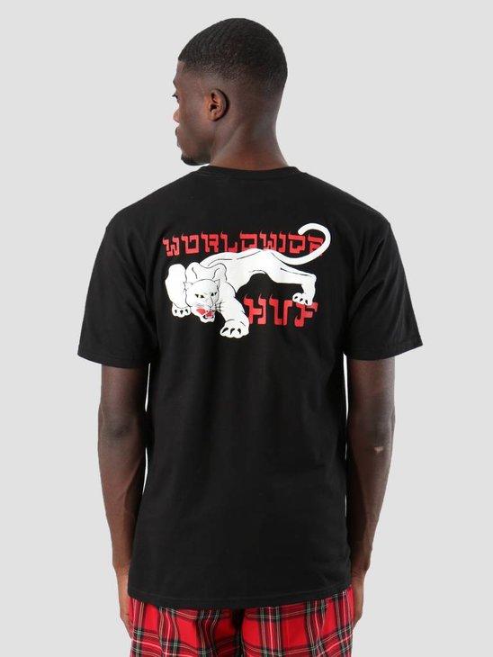 HUF Burmese T-Shirt Black Ts00473