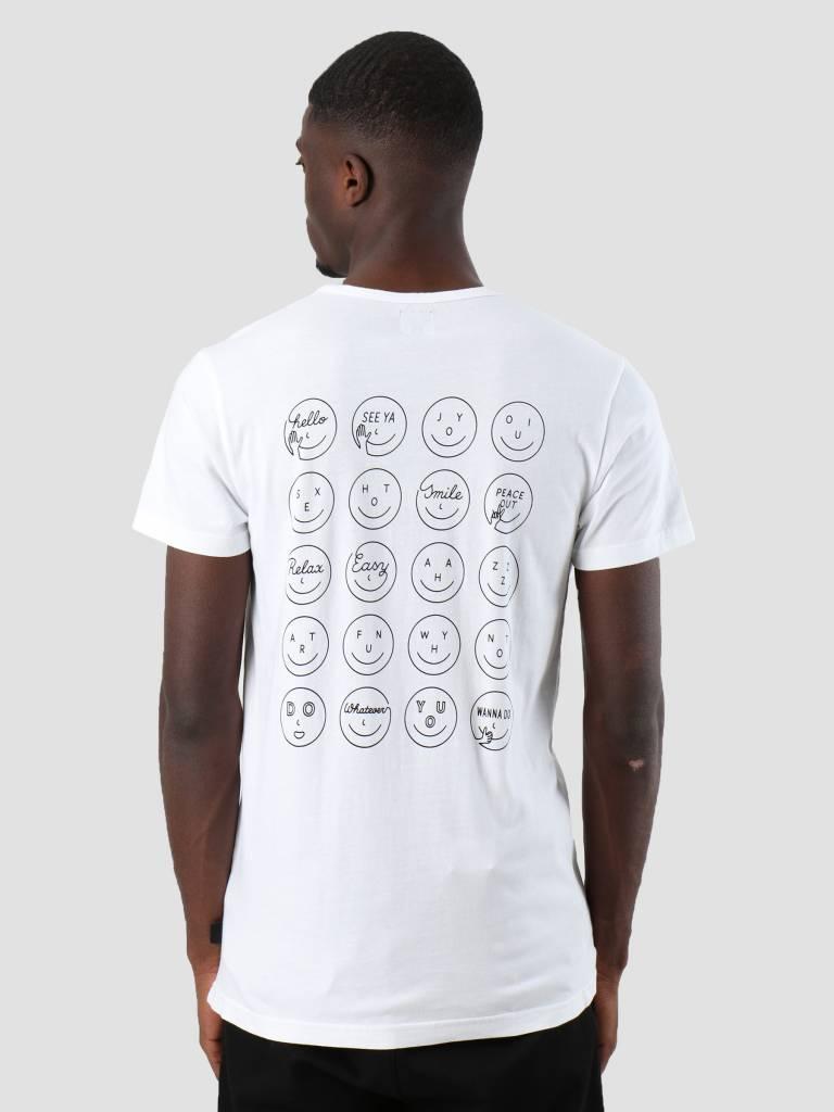 Ceizer Ceizer Oui T-Shirt White