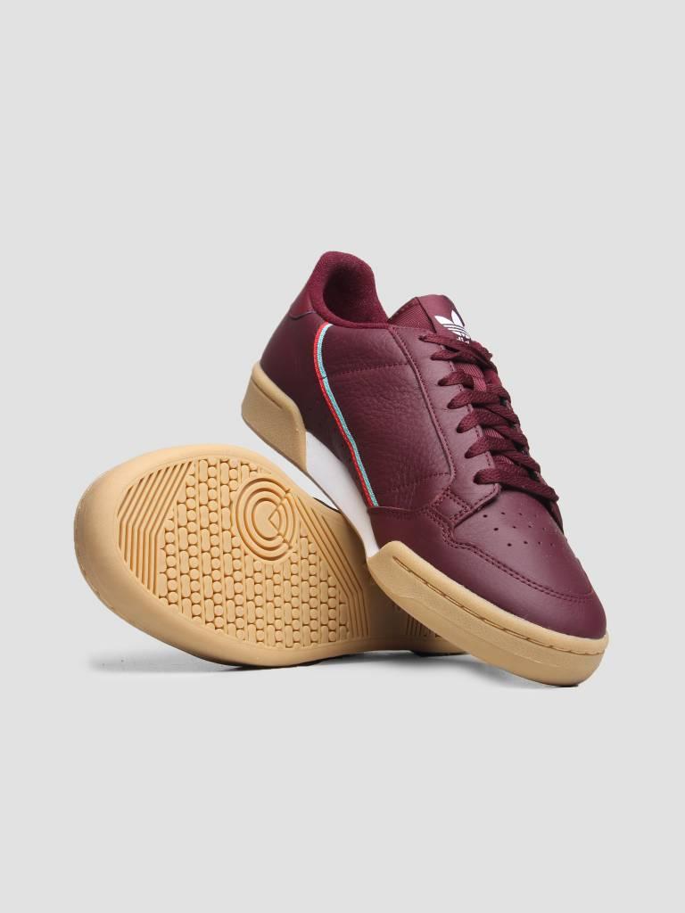 adidas adidas Continental 80 Maroon Scarle Hiraqu B41677