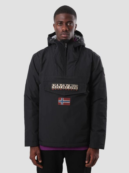 NAPAPIJRI Rainforest Winter 1 Jacket Black N0YGNJ041
