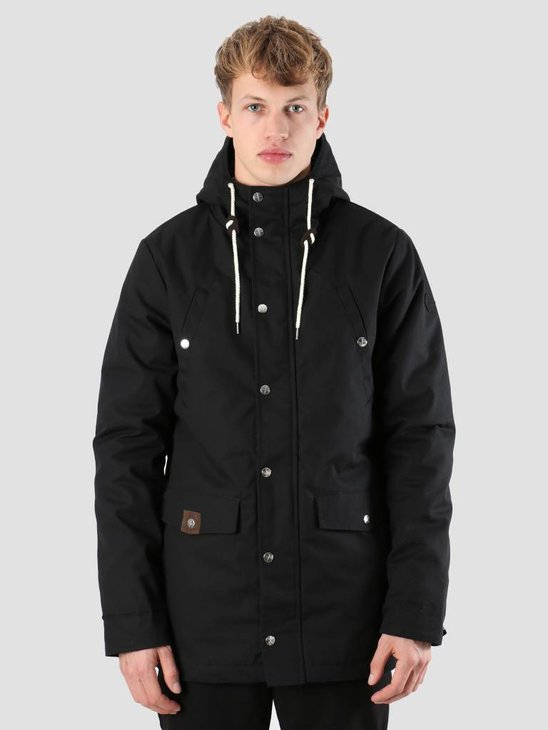 RVLT Heavy Parka Jacket Black 7246