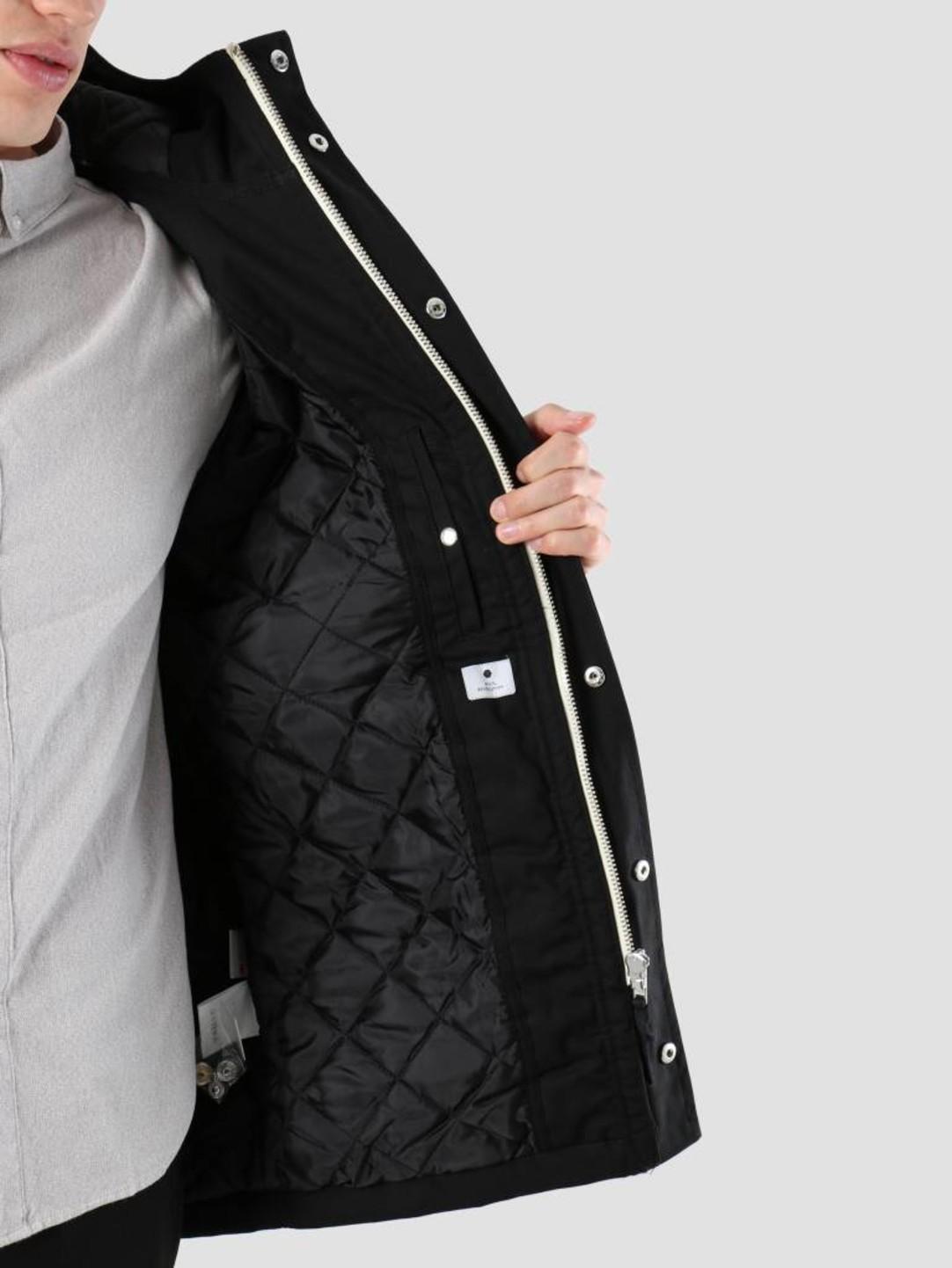 RVLT RVLT Heavy Parka Jacket Black 7246