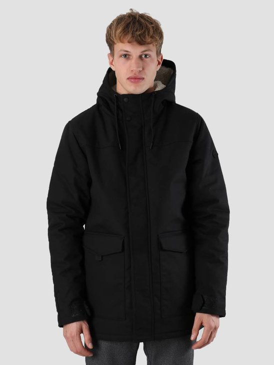 RVLT Lauritz Parka Jacket Black 7577